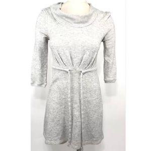 EUC Anthro Saturday/Sunday fleece midi dress M